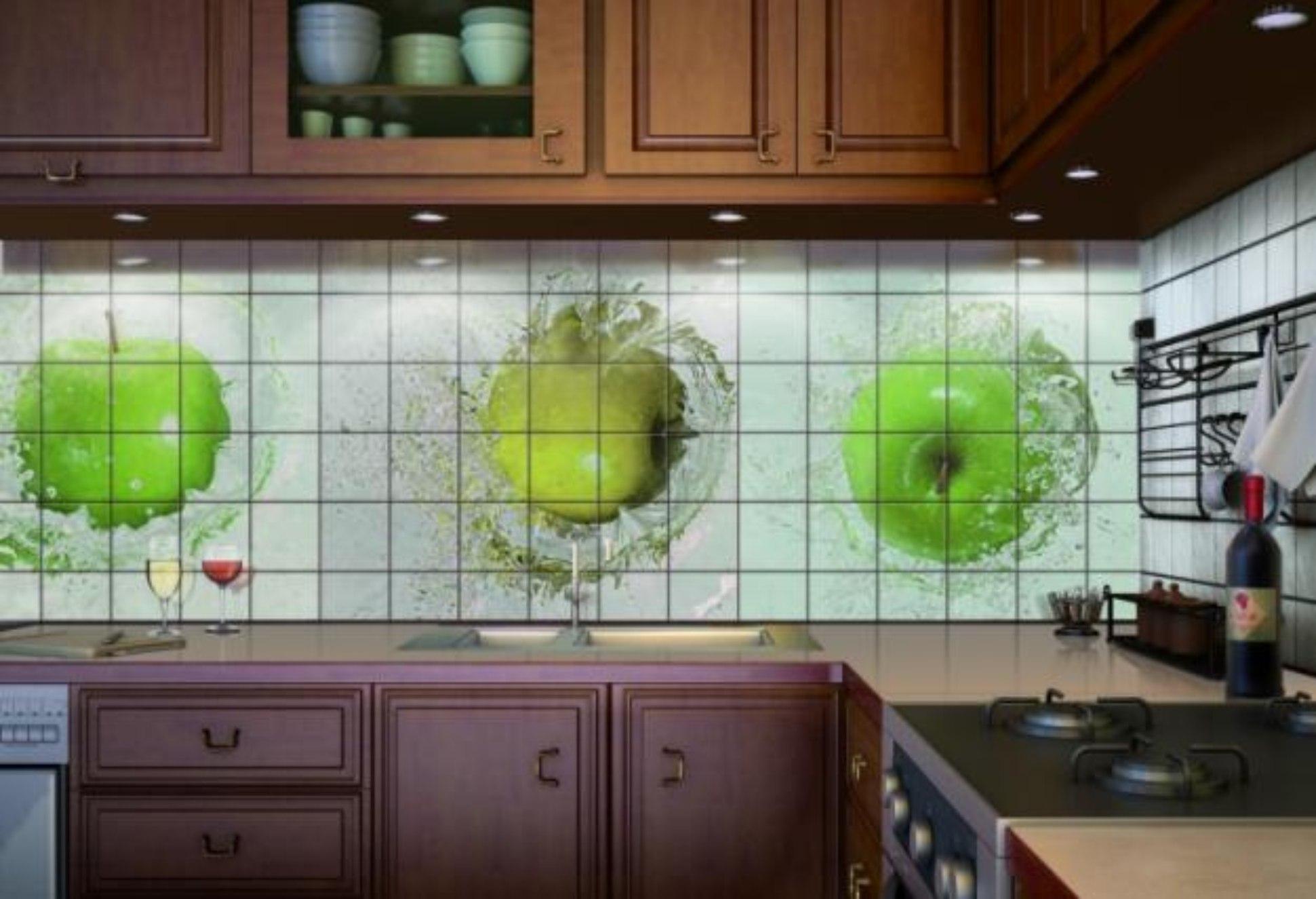 Выложить фартук на кухне своими руками фото 228