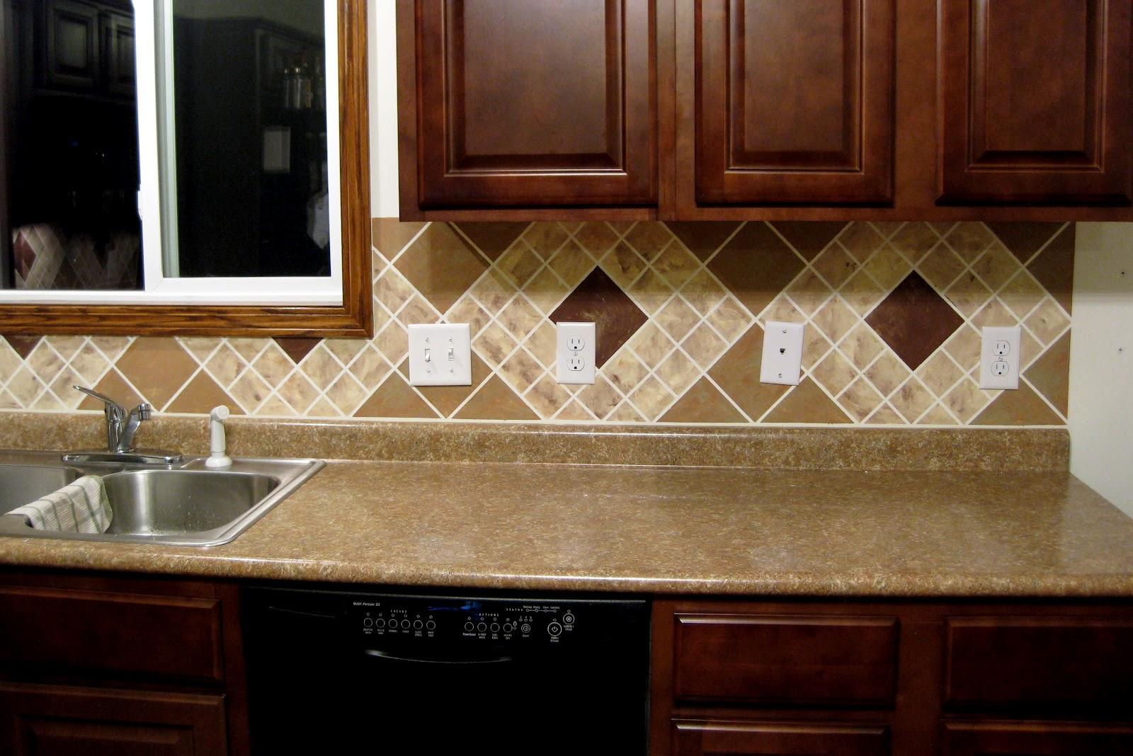 Кухонный фартук на кухне своими руками