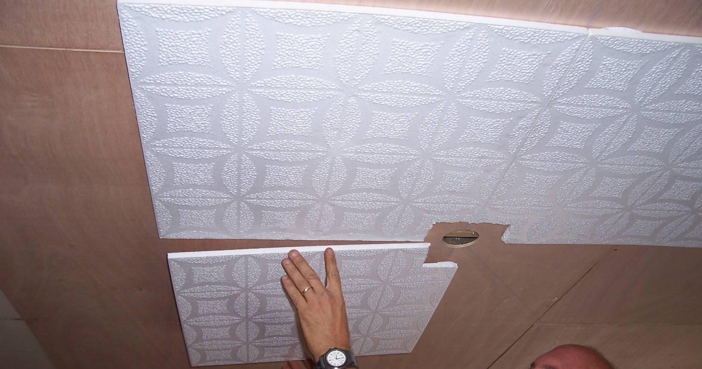 Потолочная плитка схема