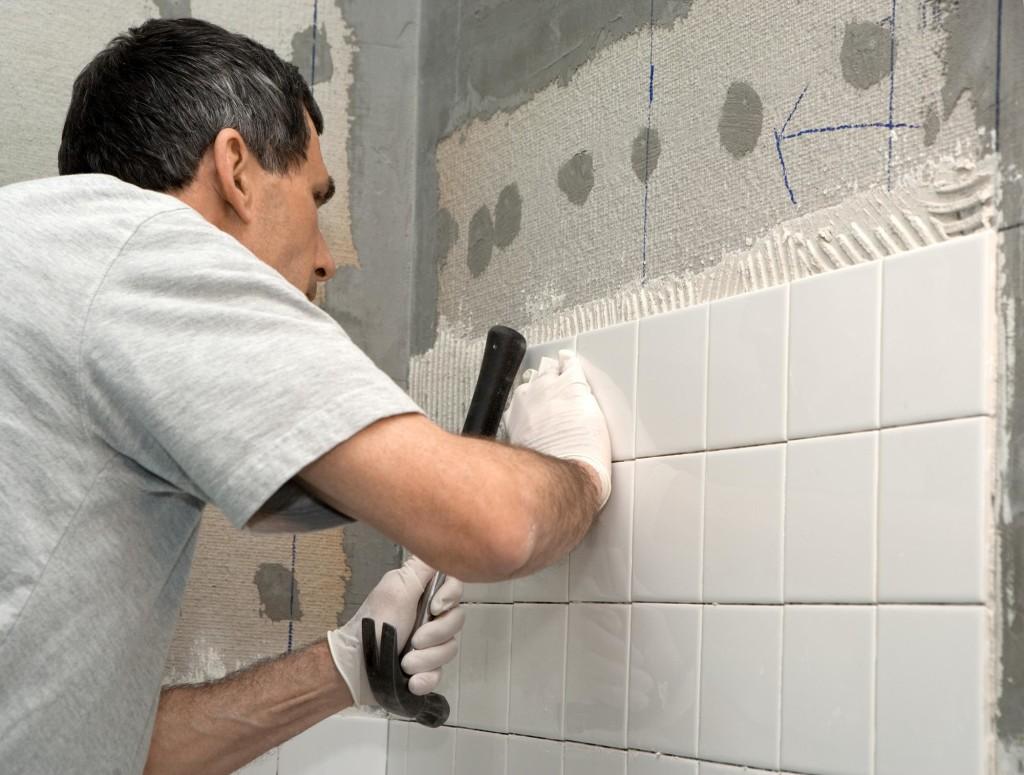 Укладка керамической плитки своими руками в ванной