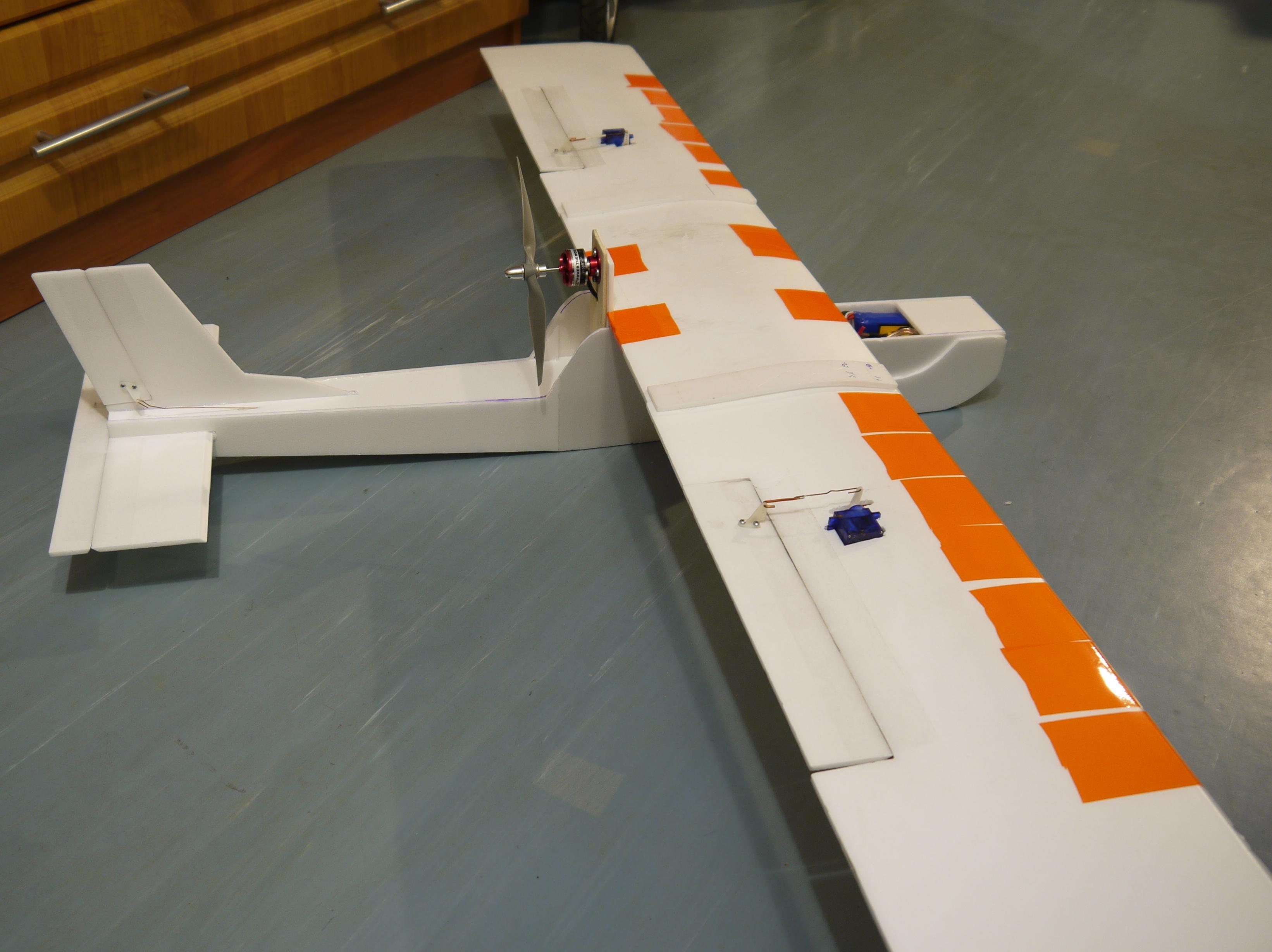 Модели самолётов из потолочки своими руками