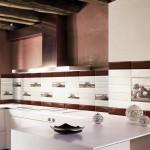 Фартук на кухню из плитки своими руками