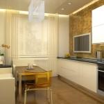Аккуратная планировка кухни