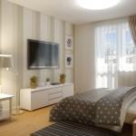 Аккуратный дизайн однокомнатной квартиры