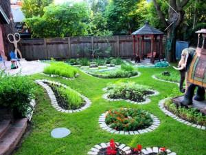 Хорошая идея для уютного дворика