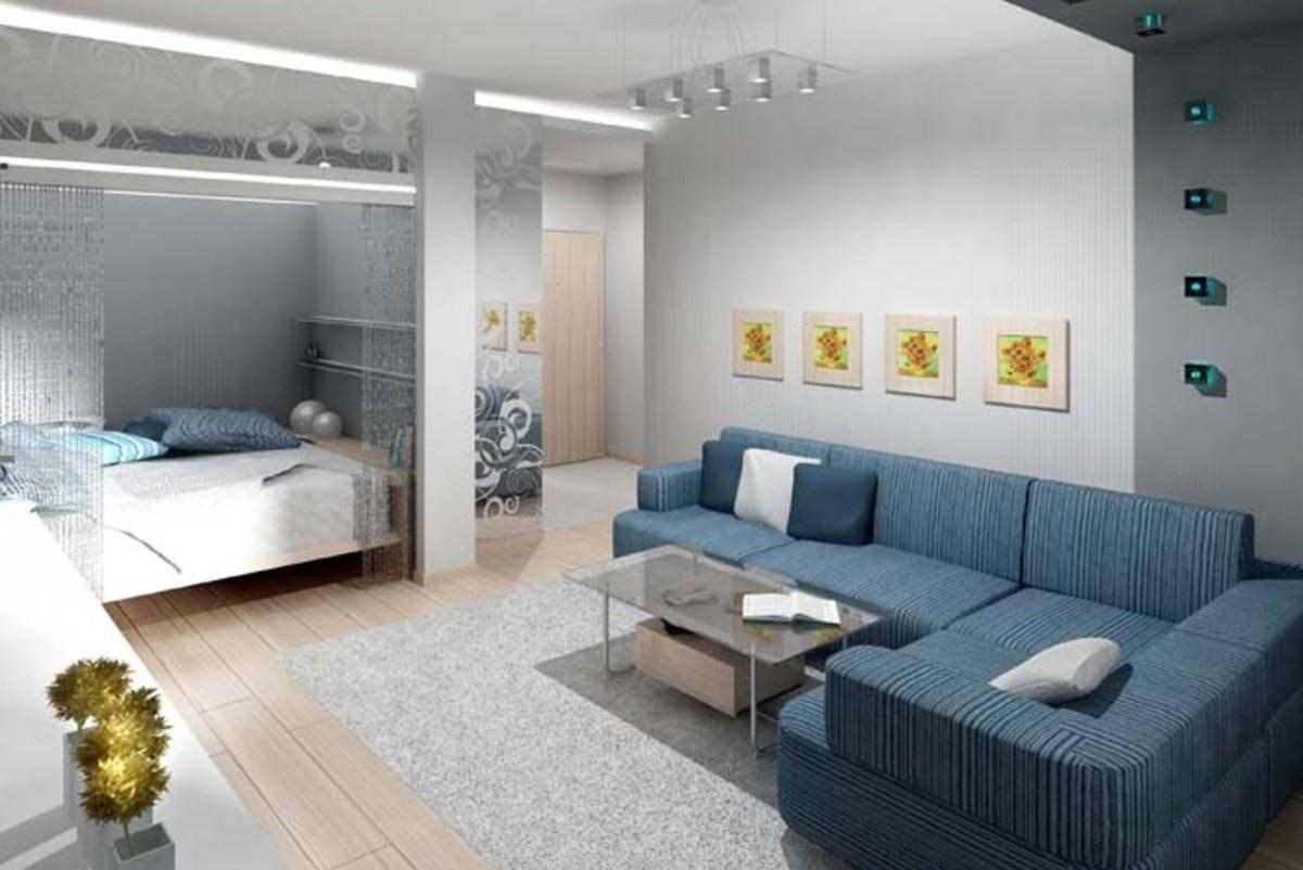 Использование гипсокартона создало спальное место