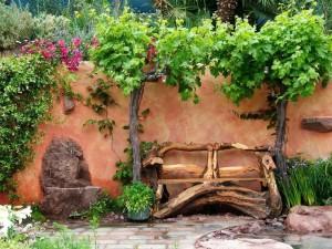 Изумительная и удивительная скамейка из дерева