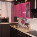 Яркий дизайн для кухни на 9 кв. м
