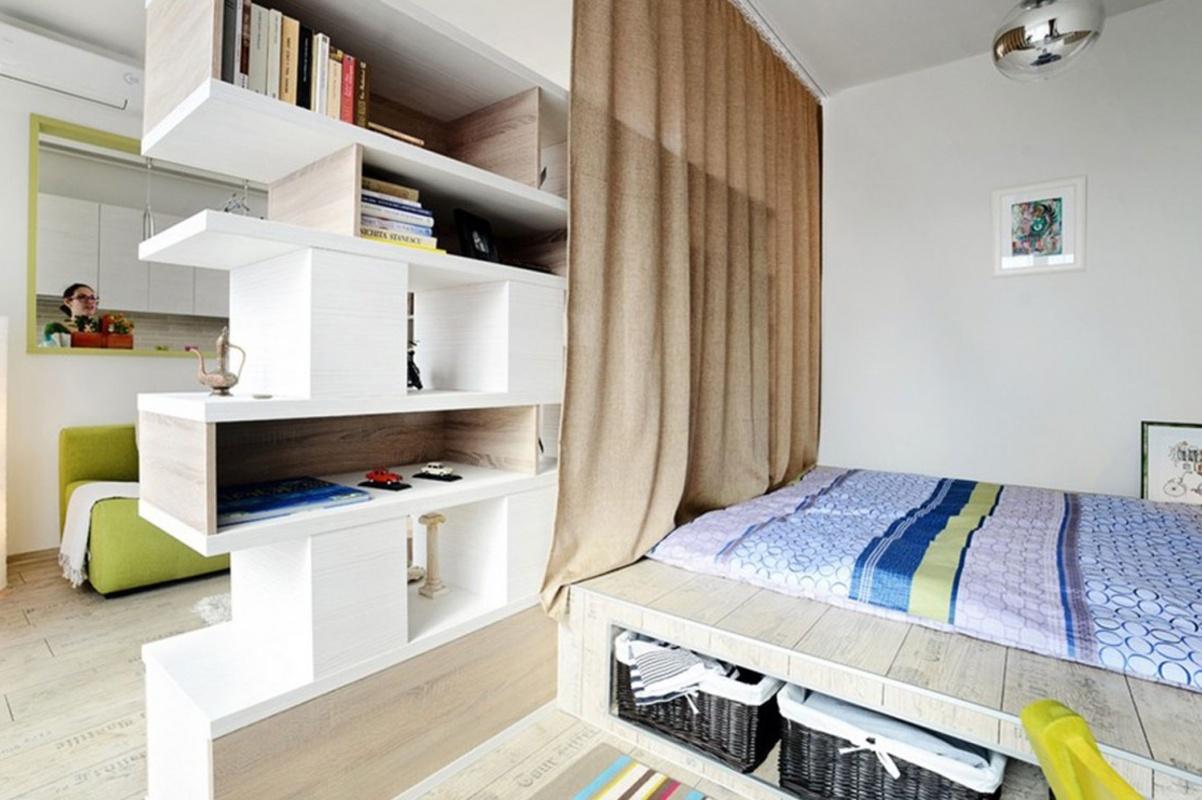 Как сделать детскую в однокомнатной квартире (23 фото) 1