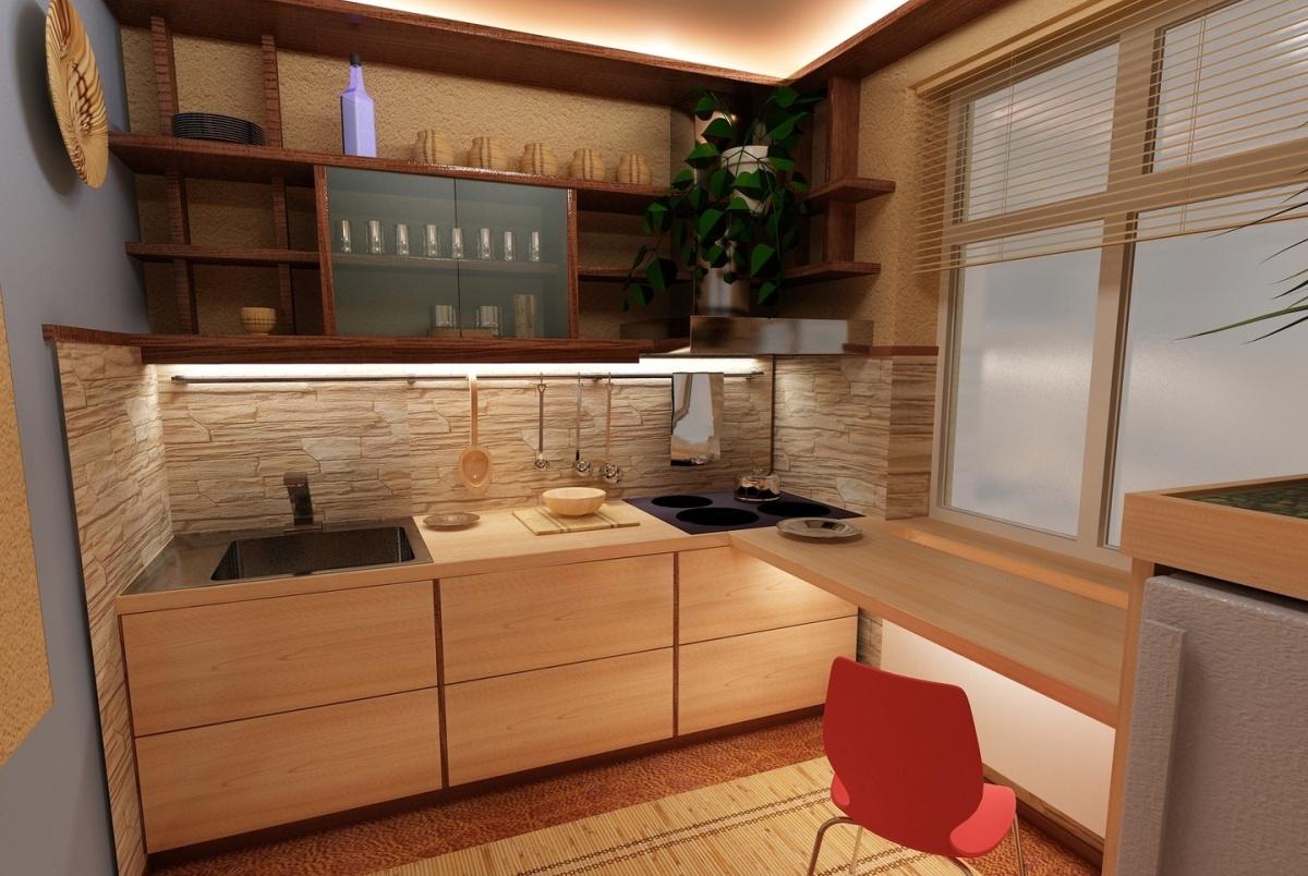Кухня мебель дизайн интерьер фото маленькая