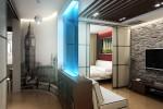 Оформление однокомнатной квартиры: дизайн и эргономика