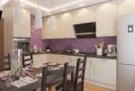 Правила дизайна в кухне 12 кв. м: эргономика пространства