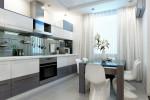 Маленькая кухня 8 кв. м: оформление, декор, текстиль