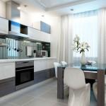 Отличный дизайн для небольшой кухни