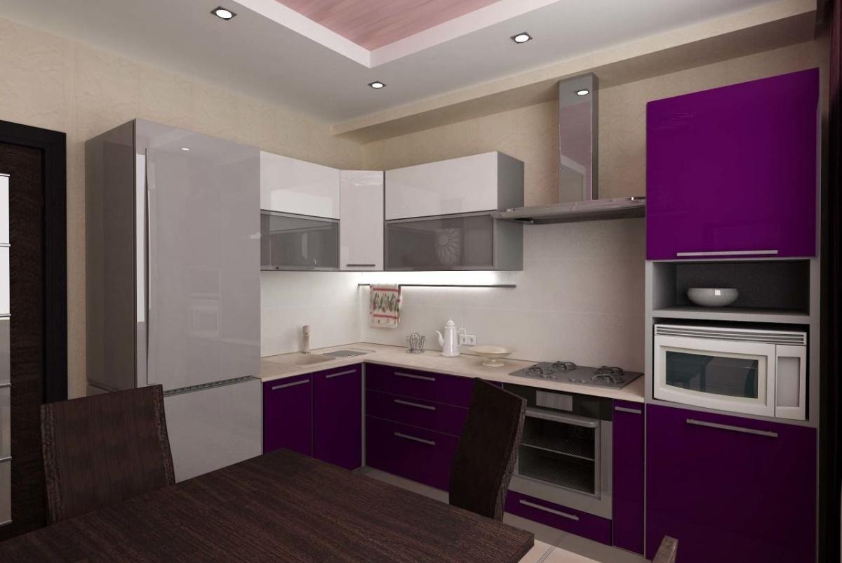 Отличный современный дизайн кухни