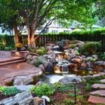 Романтический водопад