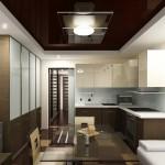 Кухня совмещенная с кухней