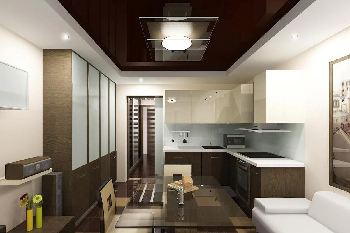 Кухня совмещенная с кухней - trestusc.ru.