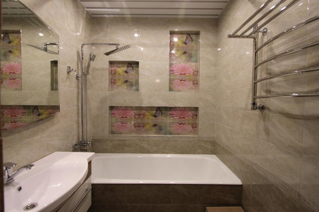 Ванная комната ремонт с нуля своими руками