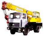 Автокран 10 тонн — характеристики и аренда спецтехники