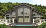 Постройка домов из клееного бруса