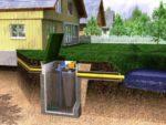 Автономная канализация Топас. Правила монтажа
