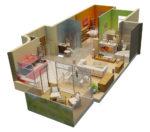 3D- визуализация дизайна интерьера