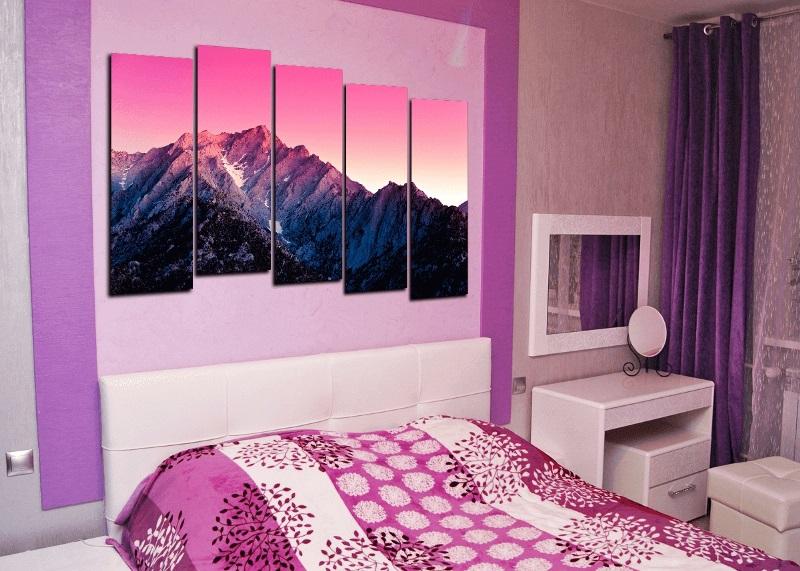 Картина в спальню купить недорого