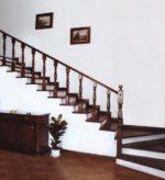 Лестница на бетонном основании: особенности отделки