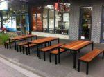 Уличная мебель для ресторана