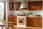 Мебель для кухни из натурального дерева под заказ